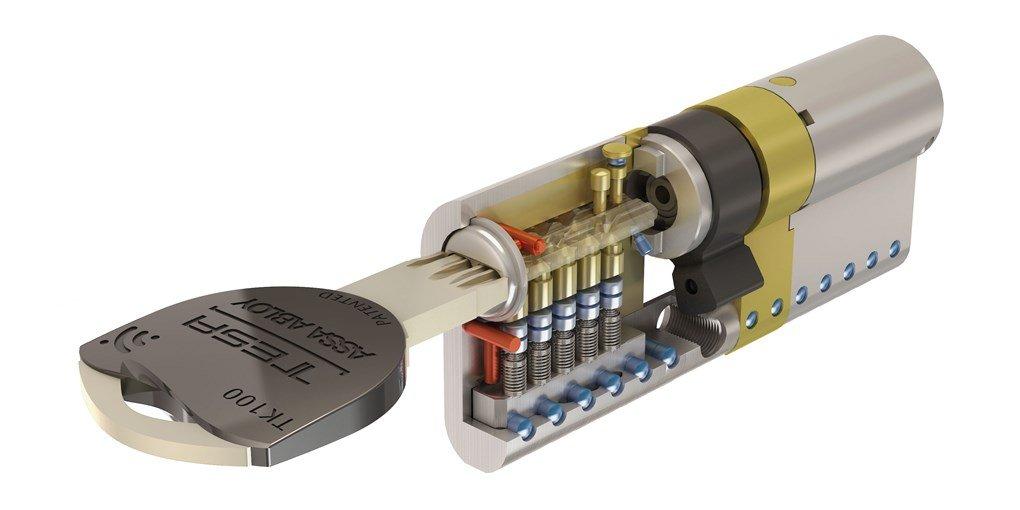 cilindro alta seguridad TK100 de TESA