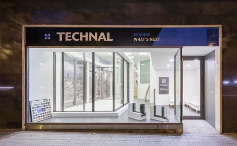 NUEVO SHOWROOM TECHNAL MADRID