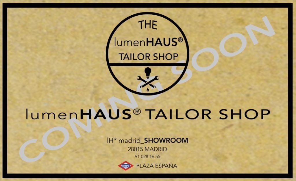 TAILOR SHOP lumenHAUS