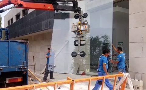 vidrios gigantes lumenHAUS