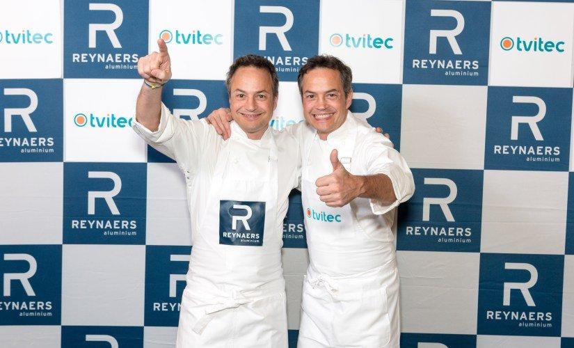 Los hermanos Torres fueron los protagonistas del acto organizado por Tvitec / EBD